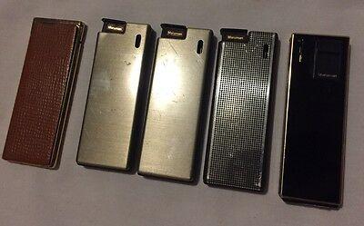 Lot of Rare Vintage Maruman Japan Cigarette Lighters Collectible