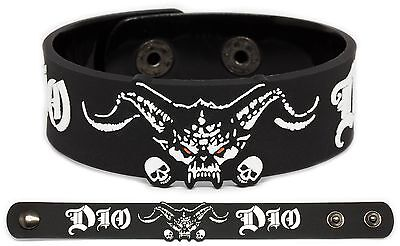 DIO Rubber Bracelet Wristband Holy Diver The Last in Line Dream Evil Sacred Hear