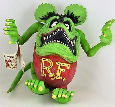 "Limited Edition Ed ""Big Daddy"" Roth Latex RAT FINK 2001 Rare Hard to Find Rubber"