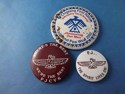 M'chigeeng First Nation Pow Wow Pjvs Pj Spirit Lives On Button Lot Native Indian