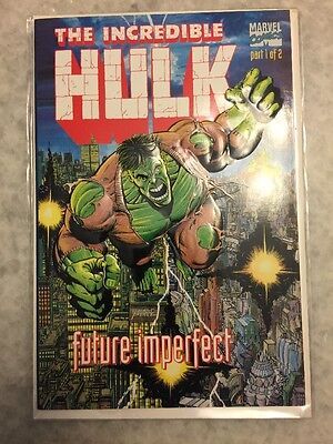 Incredible Hulk Future Imperfect 1 And 2.  NM+ Copies.