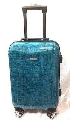 "Ricardo Beverly Hills 19""  Luggage Spinner Carry On Turquoise"