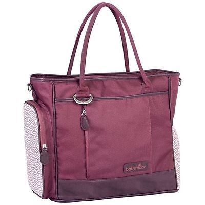 BABYMOOV Sac a Langer Essential Bag Cherry
