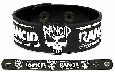 RANCID Rubber Bracelet Wristband Let's Go And Out Come the Wolves