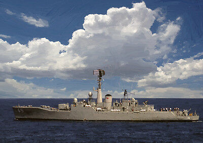 Hmas Yarra - Hand Finished, Limited Edition (25)