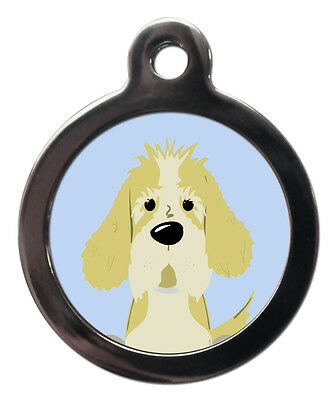 Petit Basset Griffon Vendeen Breed Cute Fun Pet Tags - Dog ID Collar Tag