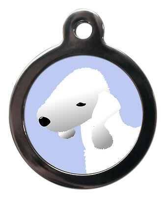 Bedlington Terrier Breed Custom Pet Tags - Dog ID Collar Tag -Personalised FREE