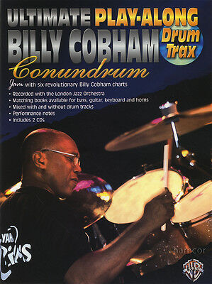Billy Cobham Conundrum Ultimate Play-Along Drum Trax Music Book/2CDs