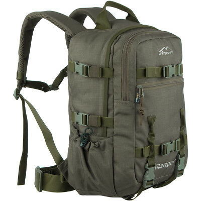 Wisport Ranger 30L Hunting Hydration Rucksack Hiking Army Nylon Pack RAL 7013