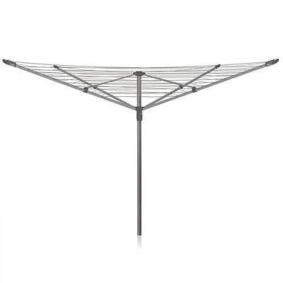 Addis 4 Arm Folding Rotary Airer Outdoor Washing Clothes Line - 50m