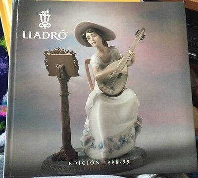 LLADRO EDITION 1998 - 1999 Porcelain Figurine Reference Catalog Book