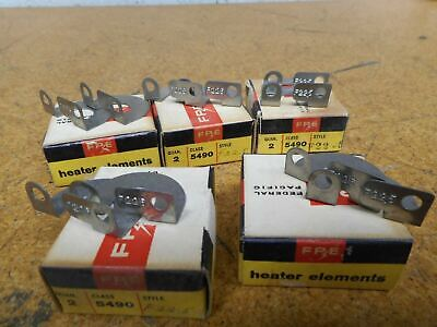 FPE Federal Pacific 5490 F22.5 Overload Heater Elements New (Lot of 10)