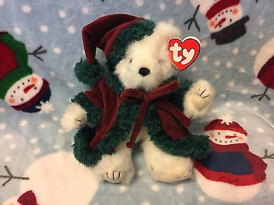 TY Attic Treasure Christmas Bear Klaus