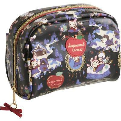 Sentimental Circus cosmetic pouch zip apple snow white princess San-X