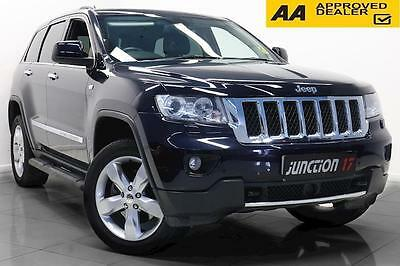 Jeep Grand Cherokee 3.0 V6 CRD Overland Automatic 5dr Estate