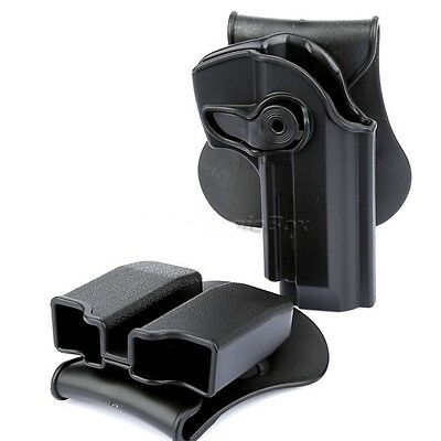 Beretta 92/96/M9 Holster Polymer Retention Roto Holster Fits All M Gun Tactical
