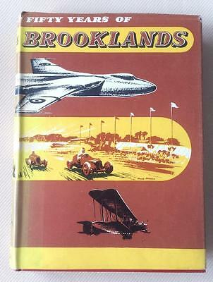 Fifty Years of Brooklands by Charles Gardner (Motorsports Book)