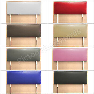 "Quality Faux Leather Headboard 3Ft 4Ft 4Ft6"" All Colours Available 2019 Material"