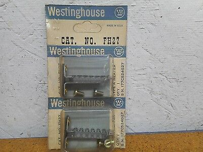 Westinghouse FH27 Thermal Overload Heater Elements New In Box (Lot of 2)