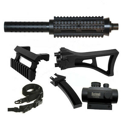 1913 Style Barrel+Mag+Stock+Scope+Sling.Fits Tippmann A5 old model Classic Model