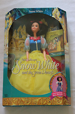 Mattel Walt Disney's SNOW WHITE AND THE SEVEN DWARF'S 1992  #7783  NRFB (11R)