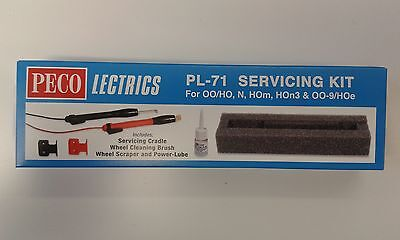 Electric Servicing Kit (loco maintenance) N/OO-9/OO/HO – Peco PL-71 – free post