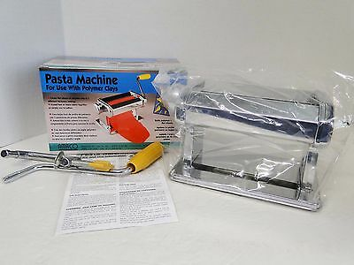 AMACO Pasta Machine for Use with Polymer Clays & Soft Metal Sheets NIB