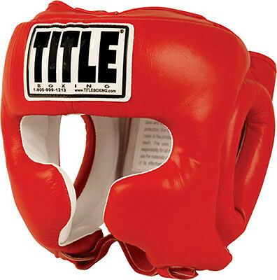 Title Boxing Traditional Training Headgear