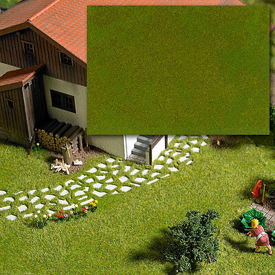 Light Spring green Fibre mat 297x210mm (OO/HO/N gauge) – Busch 1318 – free post