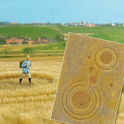 Grain field With Crop Circles - Fibre mat 297x210mm – Busch 1311 – free post