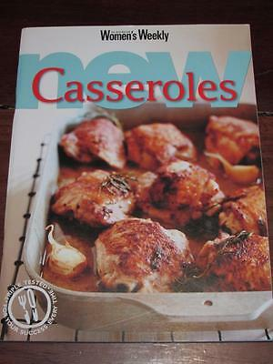 Womens' Weekly Cookbook New Casseroles  Easy Recipes Chef