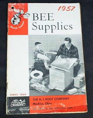 1957 Root Bee Bee Keeping Supplies Catalog Neat Vintage Photos Equipment Prices