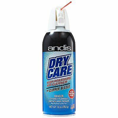 ANDIS Dry Care High Pressure Air Cleaner 12755 for Clipper Blades 10oz #7557