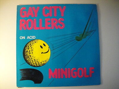 Gay City Rollers - Minigolf on Acid  12'' with Booklet