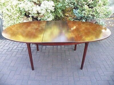 Danish Extending 1960's Mid Century Modern Rosewood Dining Table