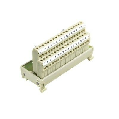 8213470000,weidmuller,breakout Module, Ribbon, 26, Term Blk, 26, 2 Row, Din