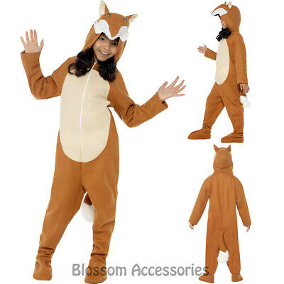 CK768 Fox Jumpsuit Book Week World Boy Girls Child Fancy Animal Costume
