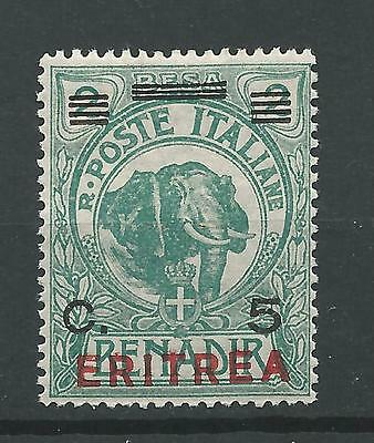 Eritrea-Italian colony 1924 Elephant MLH Cat $17 See description