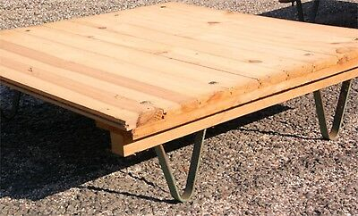 Coffee Table Palette SNCF Design Murniture craft Workshop Industrial Old Wood