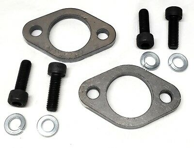 2 Flange for Predator 301, 420, GX Honda 270 & 390 And other clones.