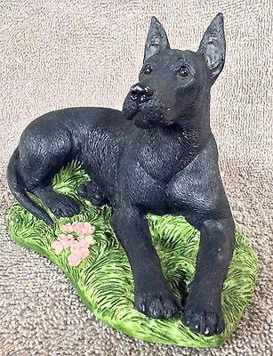 Older Black Great Dane Dated 1984 - Lot 46/1