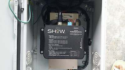 City Theatrical 5620 SHoW DMX 3 Channel 10A Dimmer & SE-600-24 Power Supply