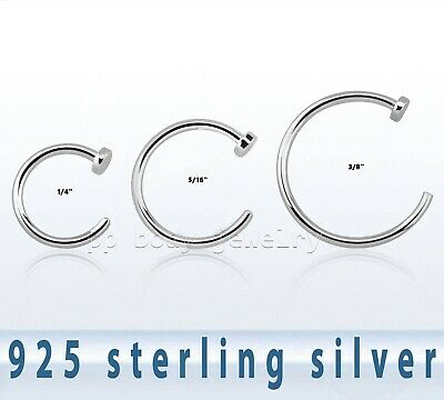 Jewelry Watches Body Piercing Jewelry S925 Sterling Silver 8