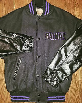 Batman Varsity Jacket size small dc comics vintage retro