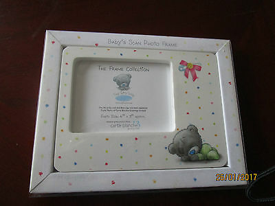 "Baby's Scan Photo Frame - Photo Size Approx 4"" X 3"""
