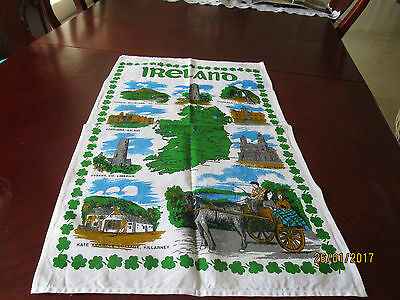 100% Cotton Teatowel  - Ireland