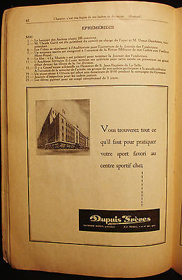 Dupuis Freres - Store Ad - 3 Vintage 1940's French Advertising - Montreal