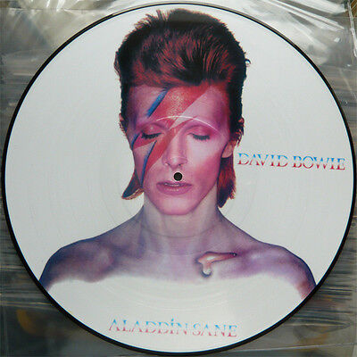 Rare David Bowie Aladdin Sane LP PICTURE DISC - MADE IN FRANCE