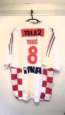 Croatia Match Worn Handball Jersey-Vukic