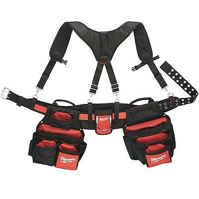 MILWAUKEE Tool Belt (1680 DEN Ballistic Nylon) belt + Shoulder strap